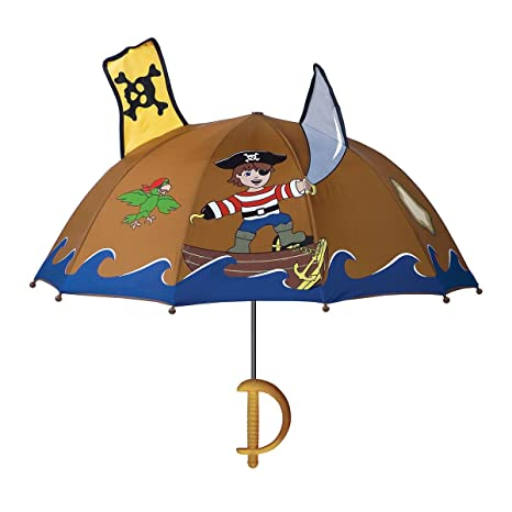 Kidorable Pirate Umbrella - Brown by