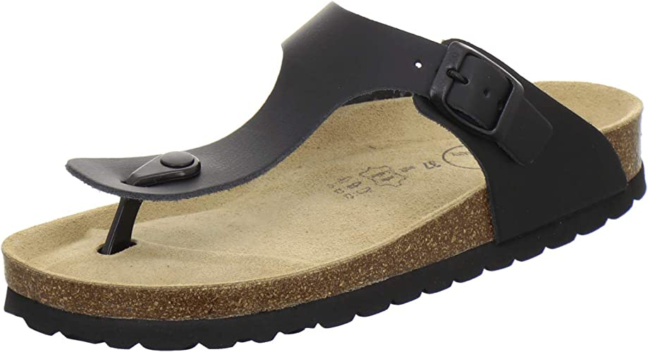 AFS Schuhe 2107, modische Zehentrenner Damen Sandale aus