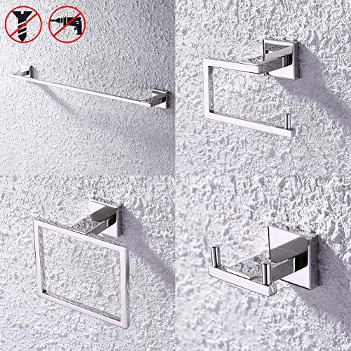 no drill towel holder - 8