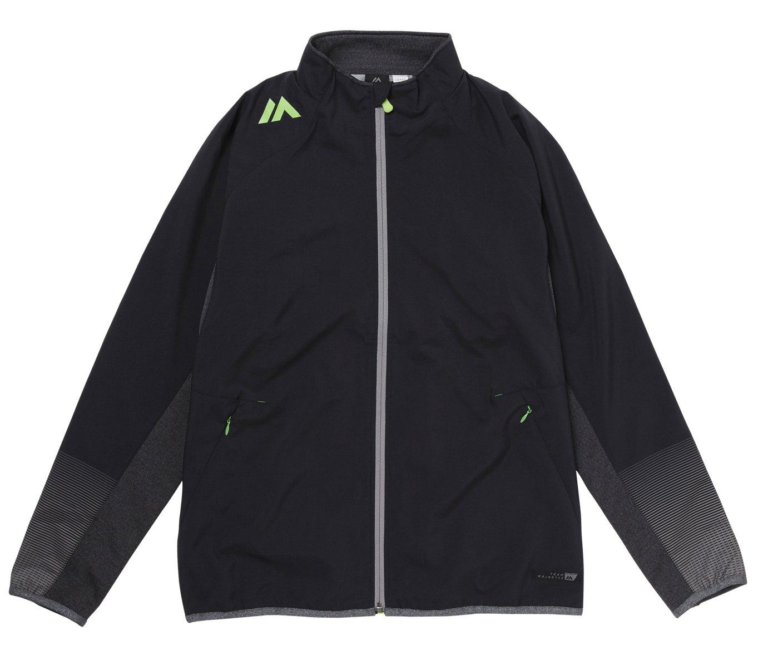 Majestic(マジェスティック) トレーニング用ジャケット Authentic Training Jacket XM23-BLK5-MAJ-0031 B074SFG9C5 Large|ブラック ブラック Large