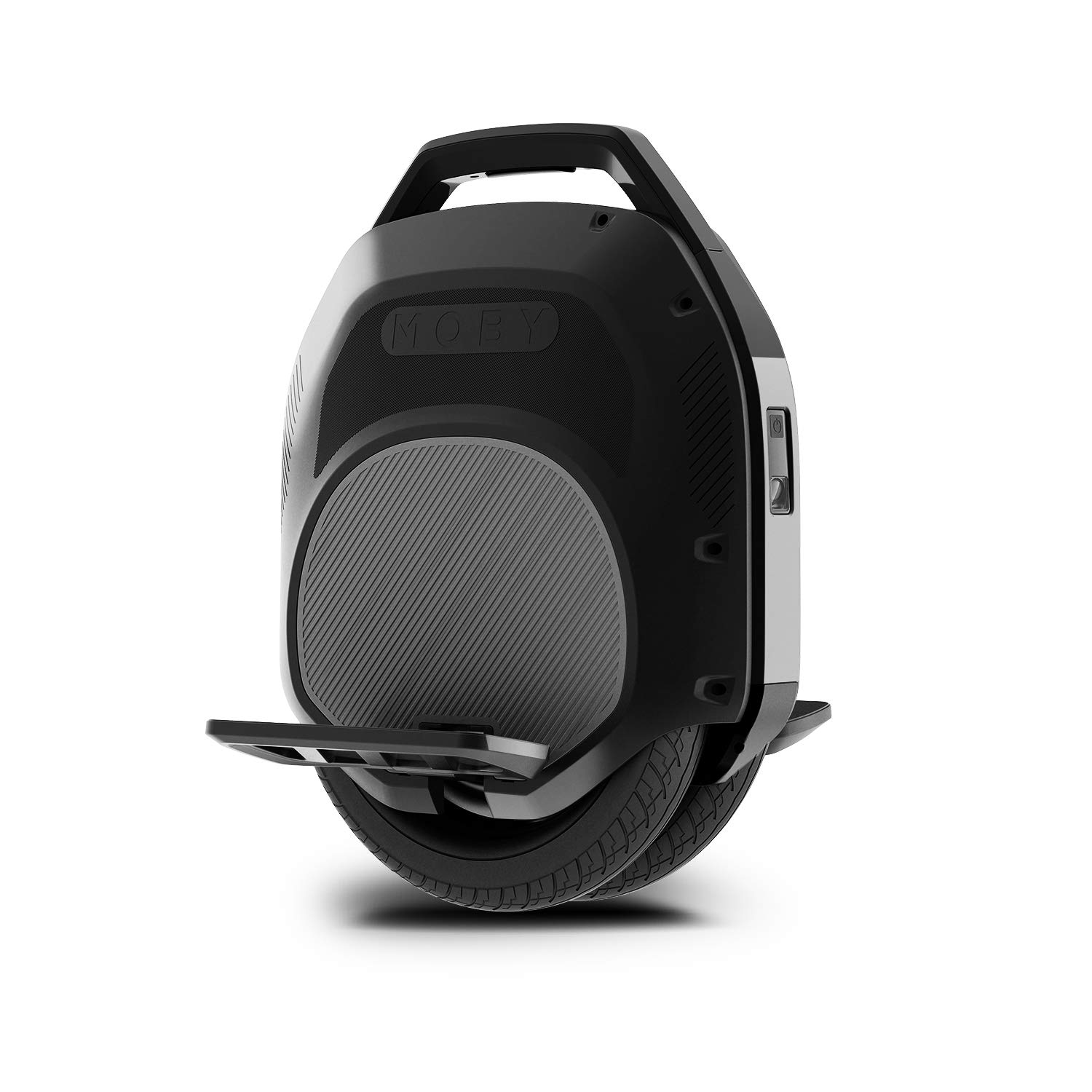 Hoverclub Solo Electric Unicycle, Single Wheeled Unicycles, Self Balancing Training Wheels with 500 Motor, Dual Air-Filled Tires, Retractable Handle for Commuting and Travel by Hoverclub