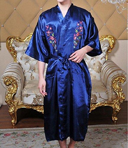 YANLIANG X & H Tiempo Libre Albornoz chino Home Primavera Verano ...
