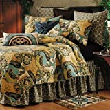 C&F Home Kasbah Collection King Quilt, 108 by 92-Inch