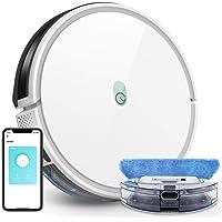 yeedi Robot Aspirador y Fregasuelos k650, Potencia Succión 2000 Pa, con Conexión Wi-Fi, Silencioso, Autocargable, Ideal…
