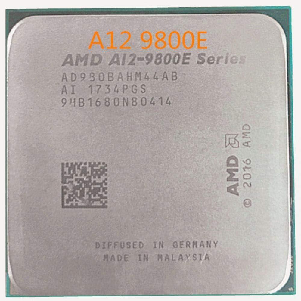 AMD A12-Series A12-9800E A12 9800E 3,1 GHz Quad-Core CPU Procesador AD9800AHM44AB Hembra AM4 Satmak A12 9800