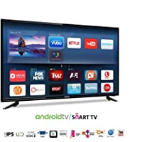 Asianet Digital 80 cm (32 Inches) HD Ready Smart LED TV AD3201Si (Black) (2019 Model)