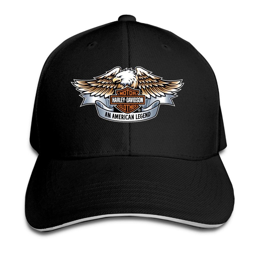 Harley Davidson Motorcycles Men's Flex Baseball Cap Budontf