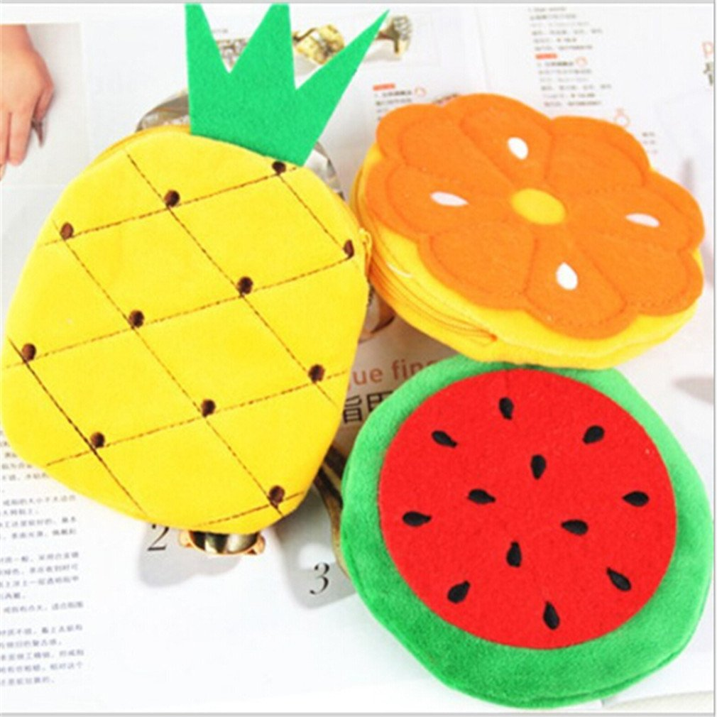 Kingus - Cartera Colorida para Frutas, Naranja, piña, Fresa ...