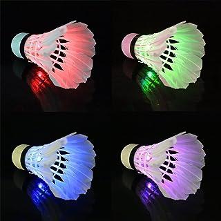 PriMI LED volants de badminton pour les activités de sports d'extérieur et d'intérieur