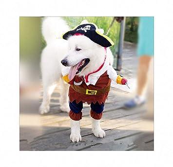 FZ FUTURE Vestido Recto Pirata Perro, Disfraz de Mascota de ...