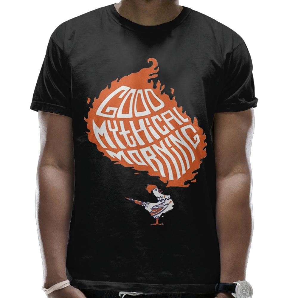 Evelyn C. Connor Men's Good Mythical Morning Tee Black