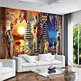 350cmX245cm wallpaper 3d home decoration picture background modern Egyptian culture ancient civilized art restaurant mural panel,350cmX245cm