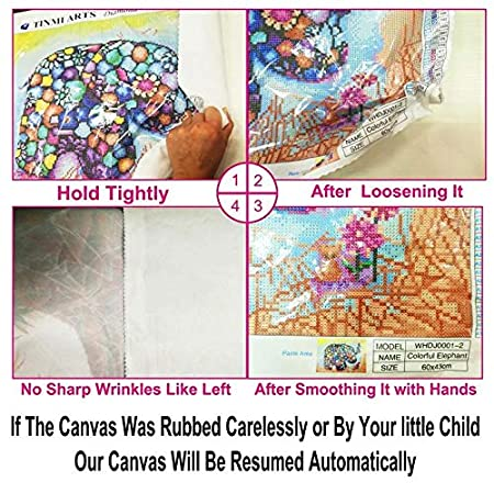 12X19 Flamingo and Trees TINMI ARTS-5D Diamond Painting Kits for Adults Full Round Mosaic Cross Stitch Kits Embroidery Kits Home Wall D/écor