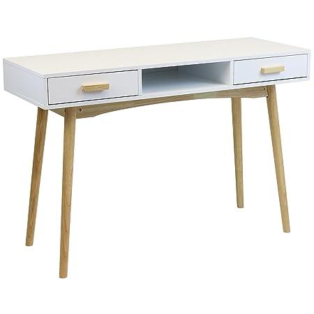retro home office. Hartleys Home Office White Retro Desk