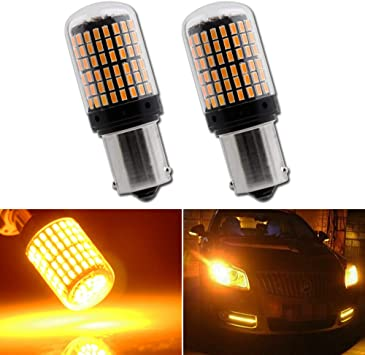 Front Turn Signal//Blinker Light Bulb 2pk 1157A Fits Listed Nissan Vehicles