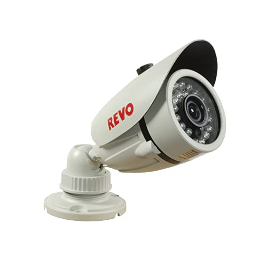Amazon.com : REVO America RCBS30-2A 660 TVL Indoor/Outdoor Bullet Surveillance Camera with 80-Feet Night Vision (Gray) : Camera & Photo