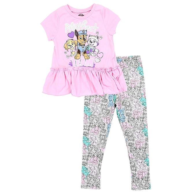 toddler girls leggings set 3T