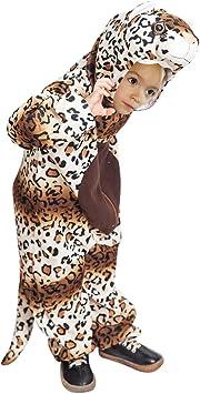 Para Niños Leopardo Fancy Dress Costume SELVA GATO ANIMALES DISFRAZ de 1 a 2 años
