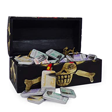 6897fdd1b5e23 Chocolate Gift with Delicious Novelty Bank Note Chocolate in a Pirate  Treasure Chest - Perfect Gift