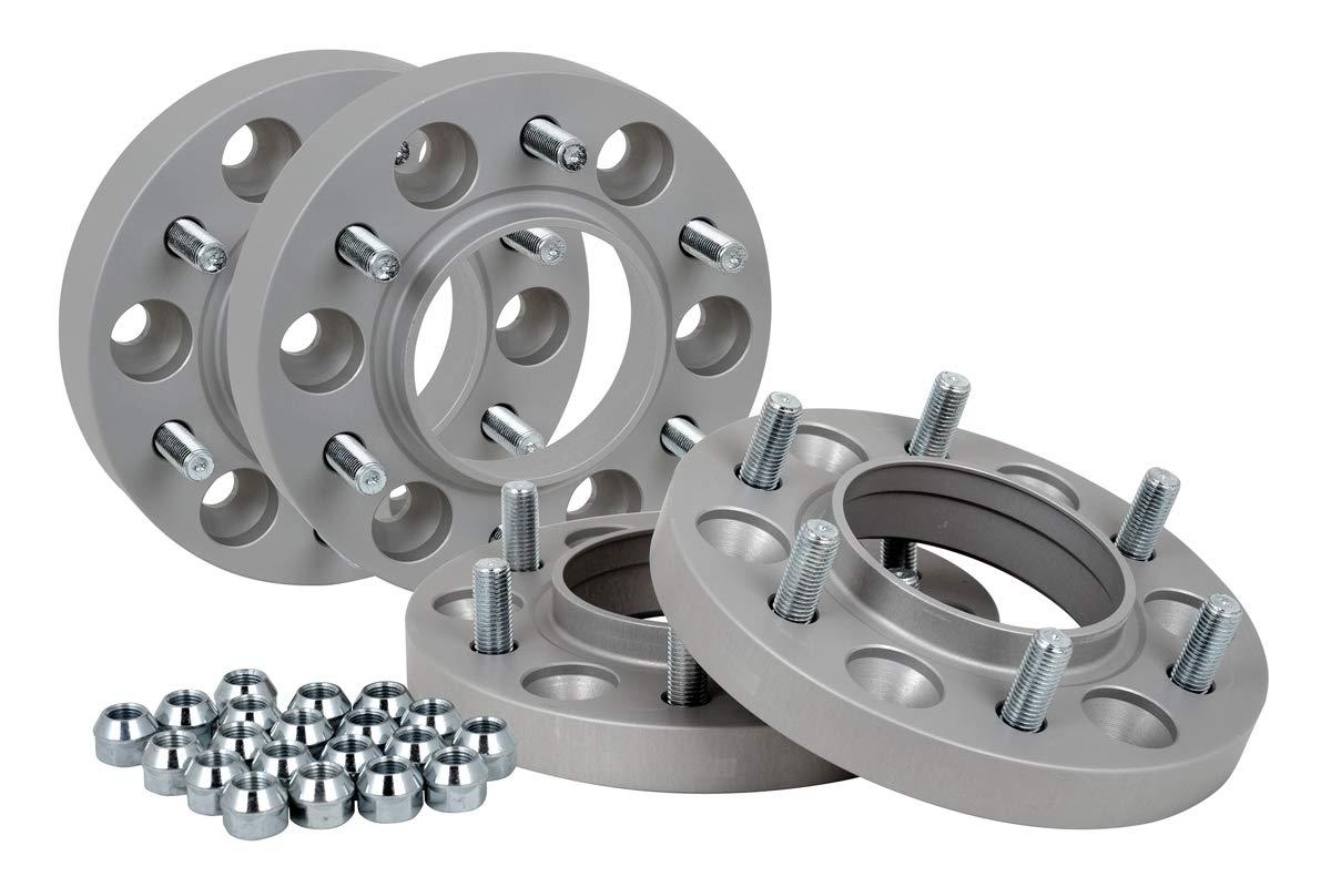 Spurverbreiterung Aluminium 4 St/ück 20//30 mm pro Scheibe // 40//60 mm pro Achse T/ÜV-Teilegutachten incl