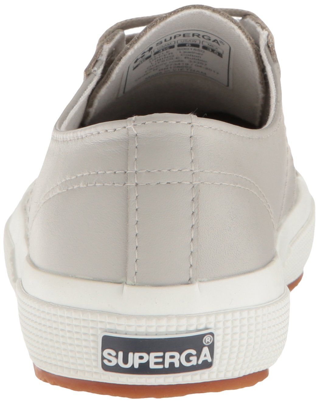 Superga Women's 2750 Fglu Wt Fashion Sneaker B01MTALPM9 39.5 M EU / 8.5 B(M) US Light Grey