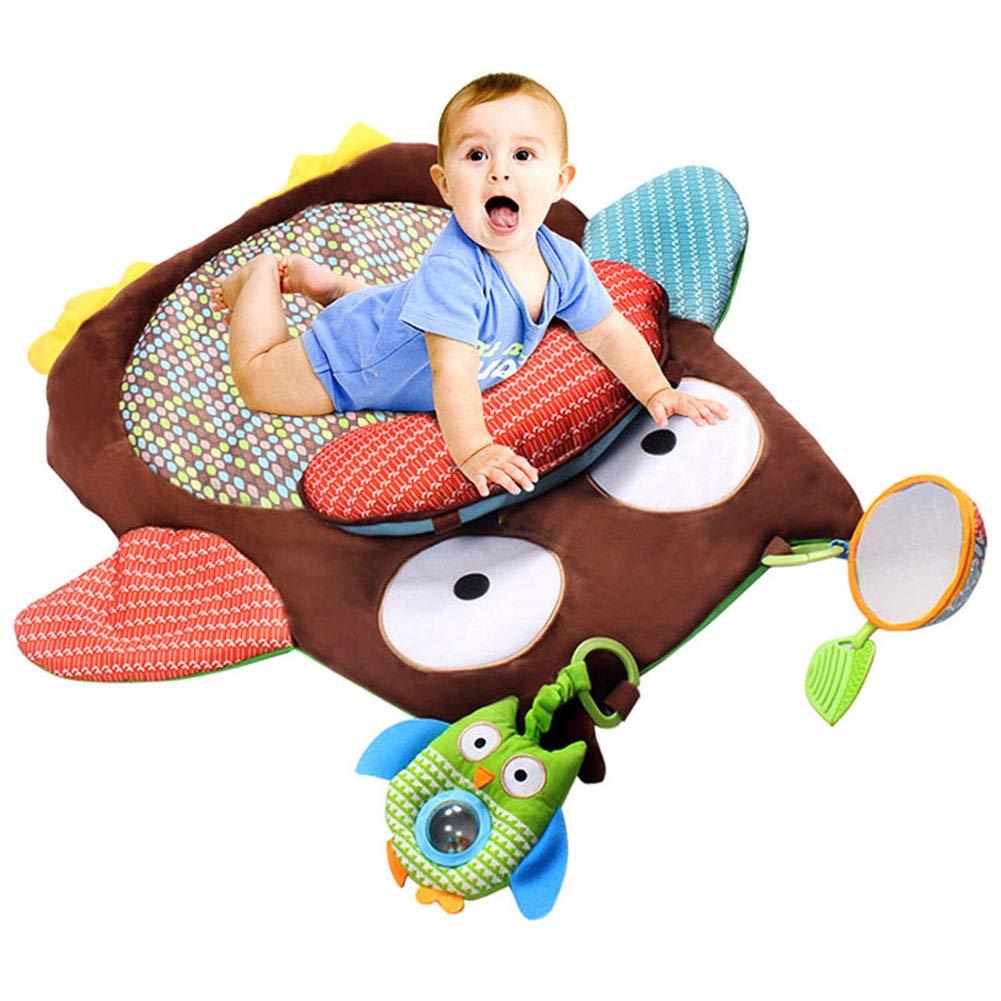 Nicknocks 幼児 ベビー ソフトプレイクロールマット ゲームパッド カーペット 膝プロテクター 教育玩具   B07N2N57YP