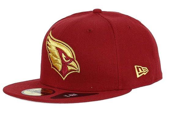 New Era Arizona Cardinals - Gorra de béisbol 59fifty, Color Rojo y ...