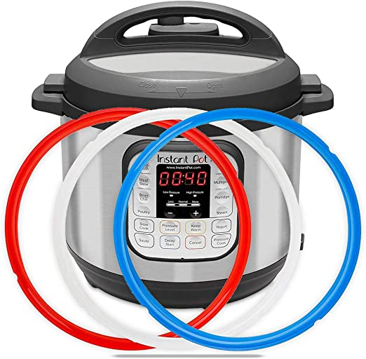 6QT Sealing Ring fits for Instant Pot 5QT Pressure cooker Accessories colour