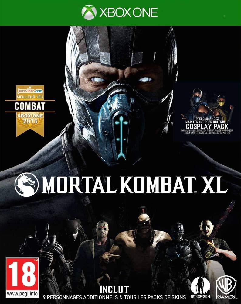 Mortal Kombat Xl Xbox One Amazon Fr Jeux Video