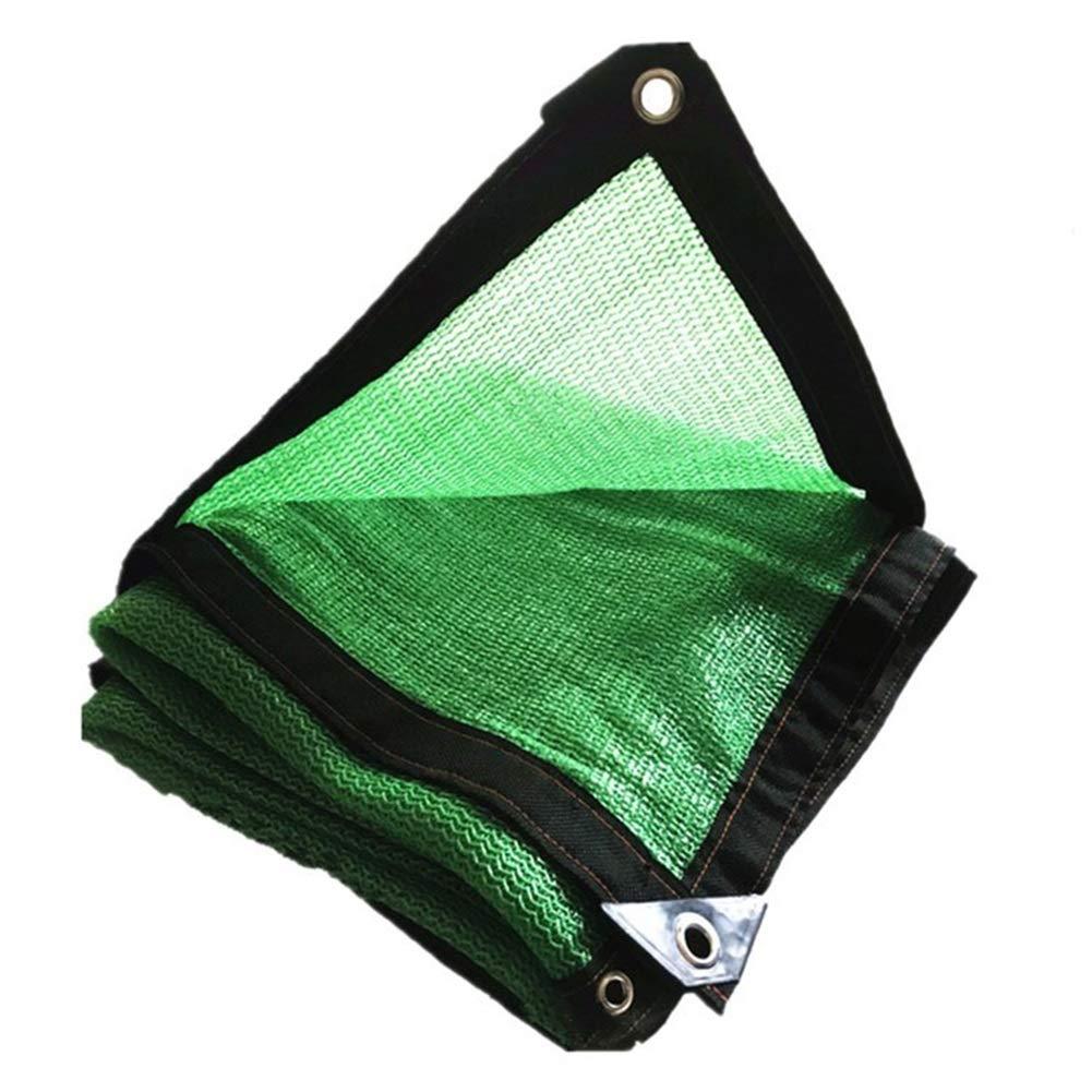 ガーデンシェードネット 85% シェーディング率 緑 エッジパンチ 厚くする 暗号化 バルコニー パティオ ルーフ 車、 23サイズ ギラン HH (Color : 緑, Size : 10x10m) 緑 10x10m