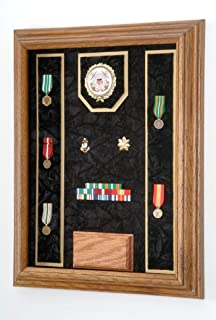 product image for All American Gifts Award Medal Display Case 12x16 (Black/USCG)