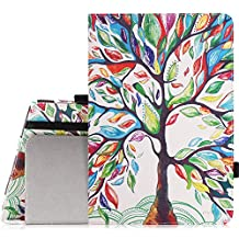 MoKo Tab S2 8.0 Case - Slim Folding Cover Case for Samsung Galaxy Tab S2 / S2 Nook 8.0 inch Tablet, Lucky TREE (With Auto Wake / Sleep and Stylus Pen Loop)