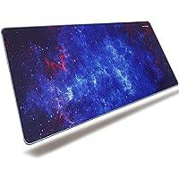 excovip Starry Sky-Alfombrilla de ratn para Juegos XXL Gaming Mouse Mat (800 * 300 * 2mm), para computadoras, PC y…