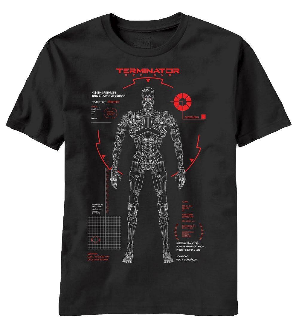 Terminator Genisys Mission Objective Camiseta Negra Para Hombre ...