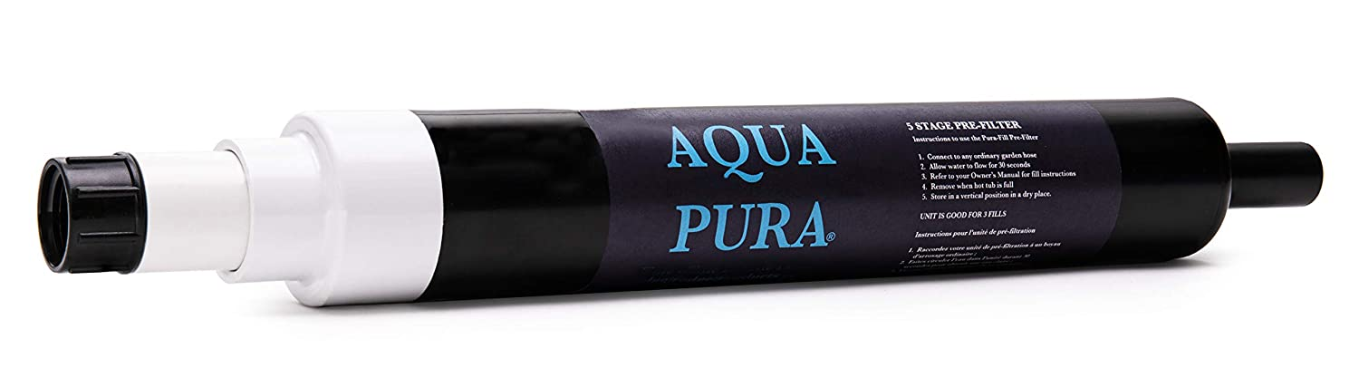 AQUA PURA 5-Stage Pre-Filter for Spas and Swimming Pools - Garden Hose Attachment