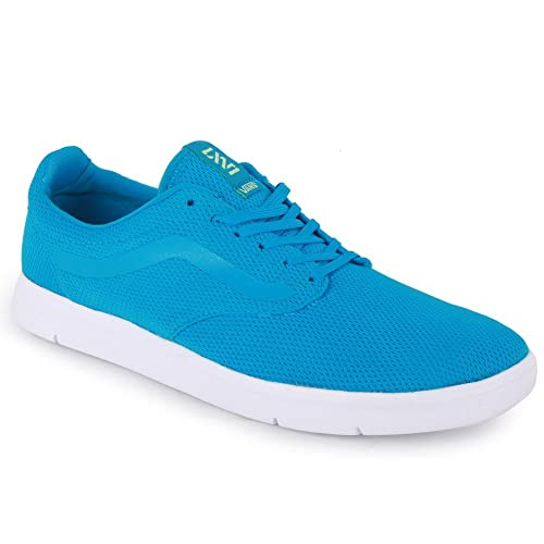 e7b36e46d894 Mens Vans LXVI Iso Lightweight Casual Textile Trainers In Methyl   White  VHH3O0 UK6