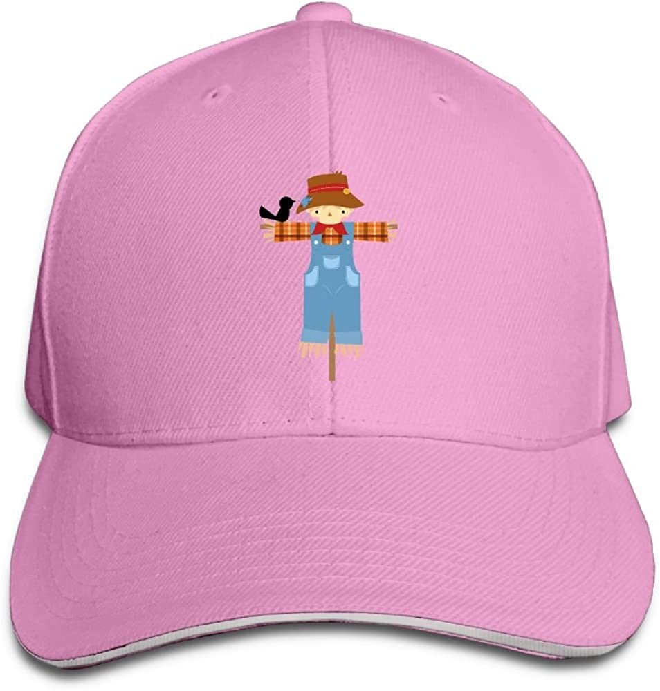 Riokk Az Women/&Men Sandwich Caps Trucker Baseball Hats Welcome To Autumn Scarecrow