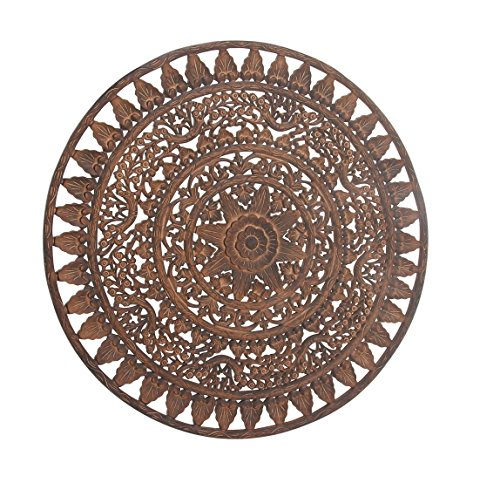 Deco 79 23783 Wooden Wall Decor, 48