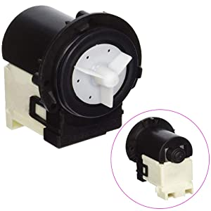 4681EA2001T Drain Pump for LG Washing Machine Replaces DC31-00054A WM8000HVA 4681EA2001D AP5328388 4681EA1007G PS3579318 2003273 by TOPEMAI