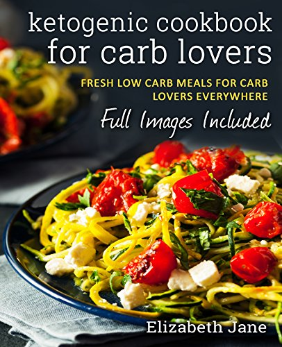 Keto: Carb Lovers Keto Cookbook (Paleo & Gluten Free): Pizza, Breads, Pies & Much More