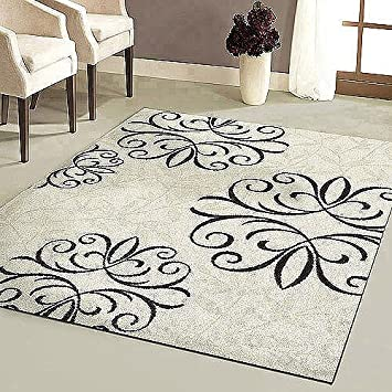 Amazon Com Better Homes And Gardens Iron Fleur Area Rug 31 X 45