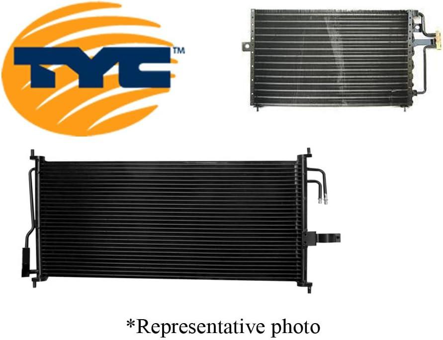 TYC 3697-G Kia Spectra Parallel Flow Replacement Condenser