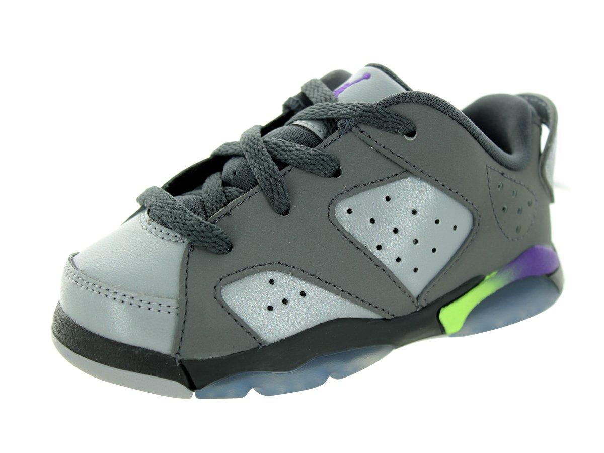 4524734ba5953f Amazon.com  NIKE Air Jordan 6 Retro Low GT Toddler s Basketball Shoes  Black Sunblush  Shoes