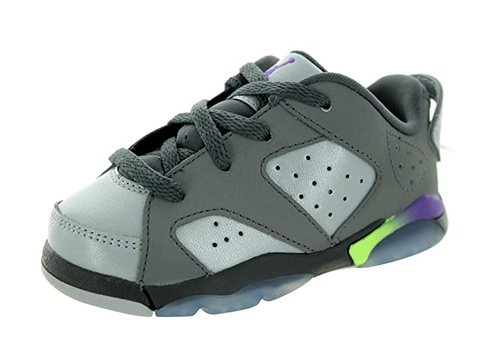 size 40 d6a62 d2847 Amazon.com: Nike Jordan Toddlers Jordan 6 Retro Low BT Drk ...
