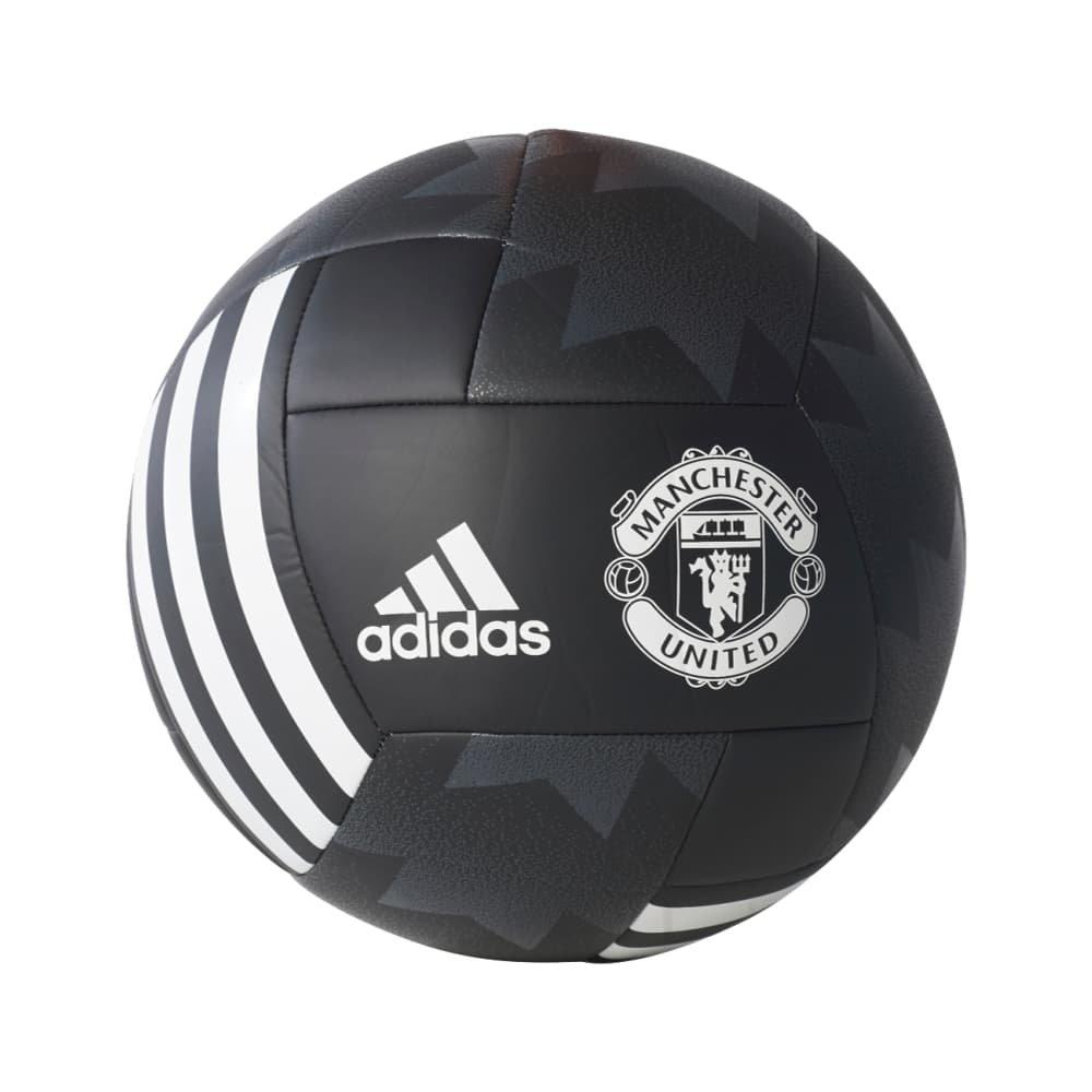 adidas Performance Manchester United Ball, Black, Size 4