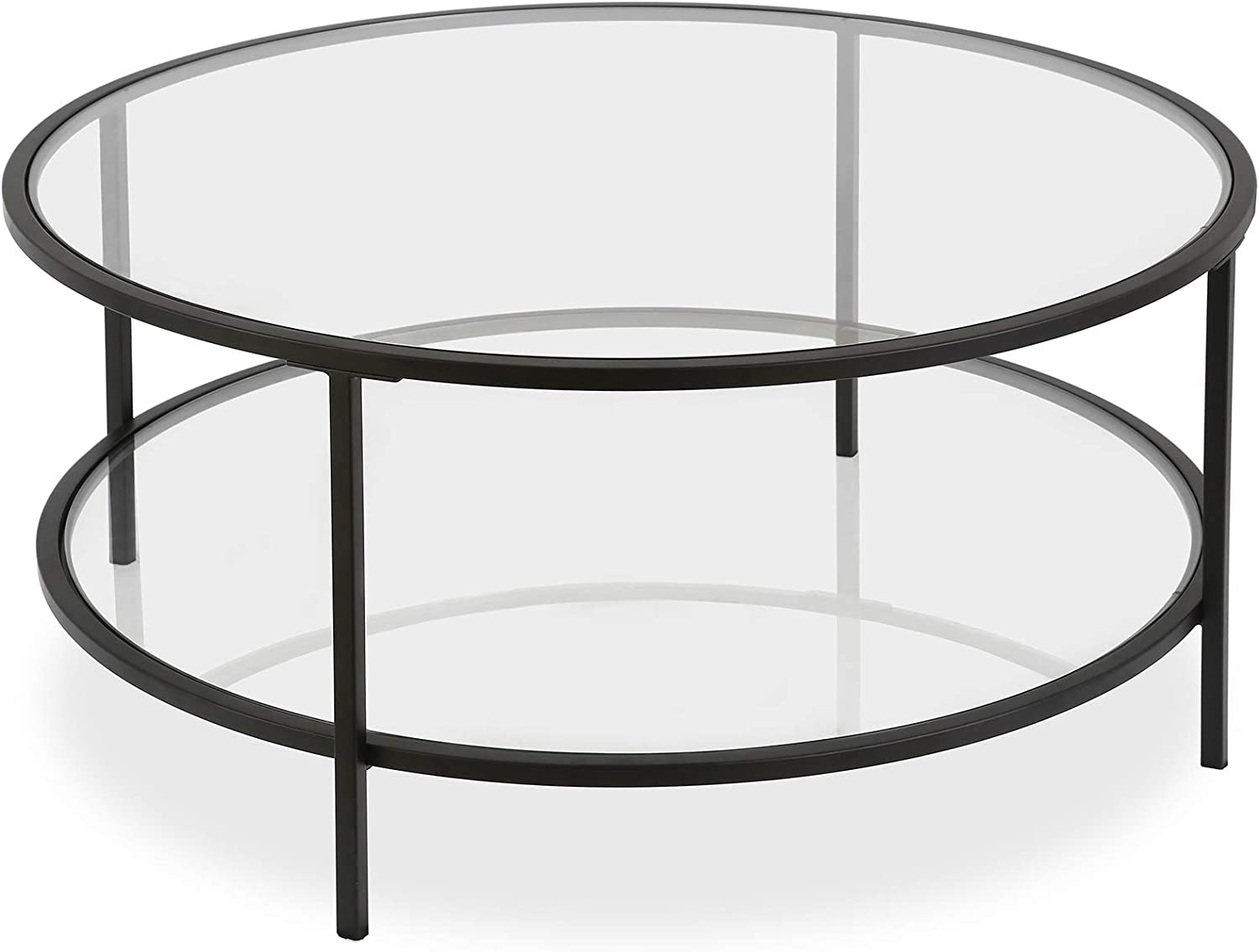 Henn&Hart Coffee Table, 1, Black