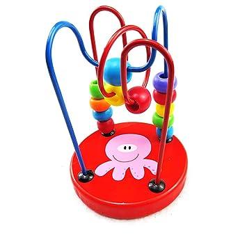 Xiton Baby Holzspielzeug Mini Rund Perlen Draht Labyrinth Lernspiel ...