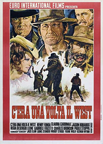 Once Upon a Time in the West (Italian D) POSTER (27