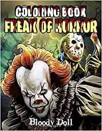 Freak Of Horror Coloring Book: Coloring Books with 25 ...