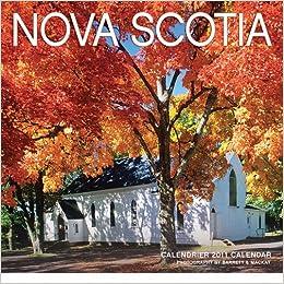 2011 Nova Scotia - Mini Calendar